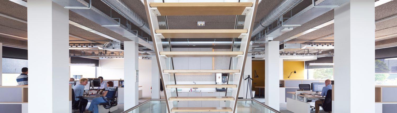 Sprayplan industrieel GRIJS akoestisch plafond